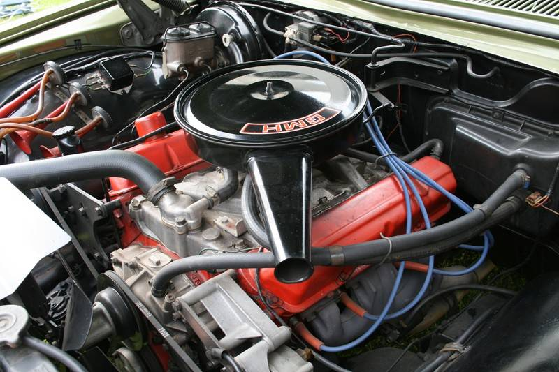 Parts Of A Muscle Car Engine