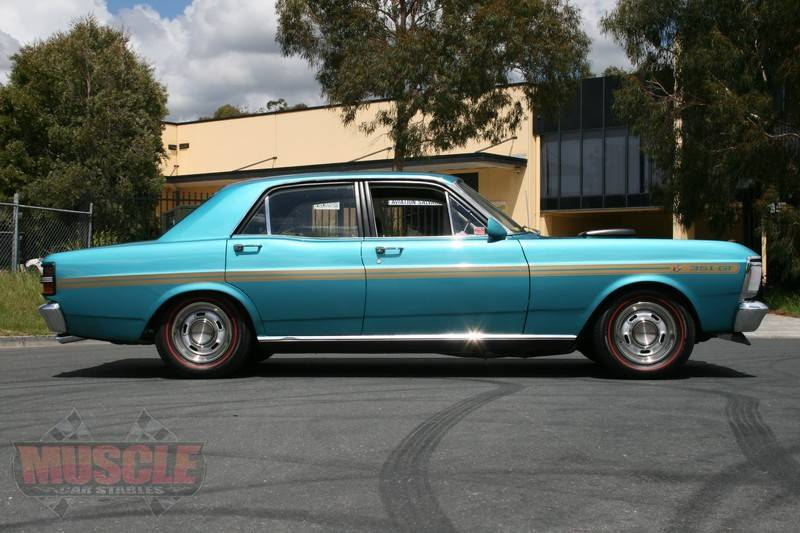 Old Muscle Cars For Sale >> XY GT Replica in it's original Teal Glow paint code ...