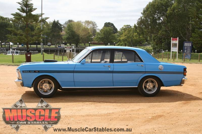 Genuine Ford Falcon XY GT in True Blue! | Muscle Car Stables on shadow cars, pd cars, fy cars,
