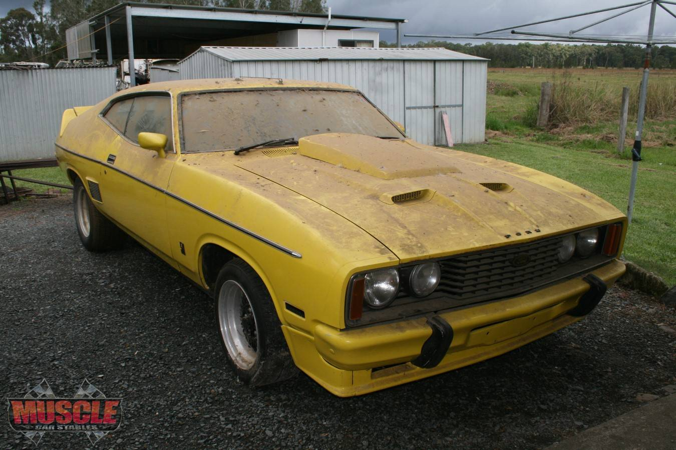 1977 XC Falcon GS HARDTOP HOMOLOGATION SPECIAL! | Muscle Car Stables