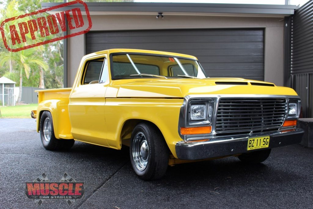 Car Auction Usa >> Custom 1977 F150 Ford Pick-Up   Muscle Car Stables