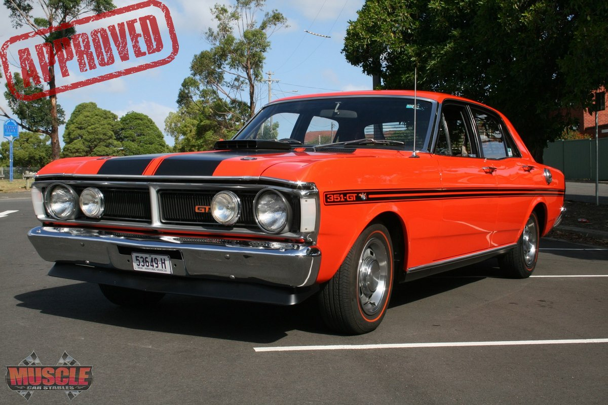 1971 Ford Falcon XY GT – Vermillion Fire | Muscle Car Stables