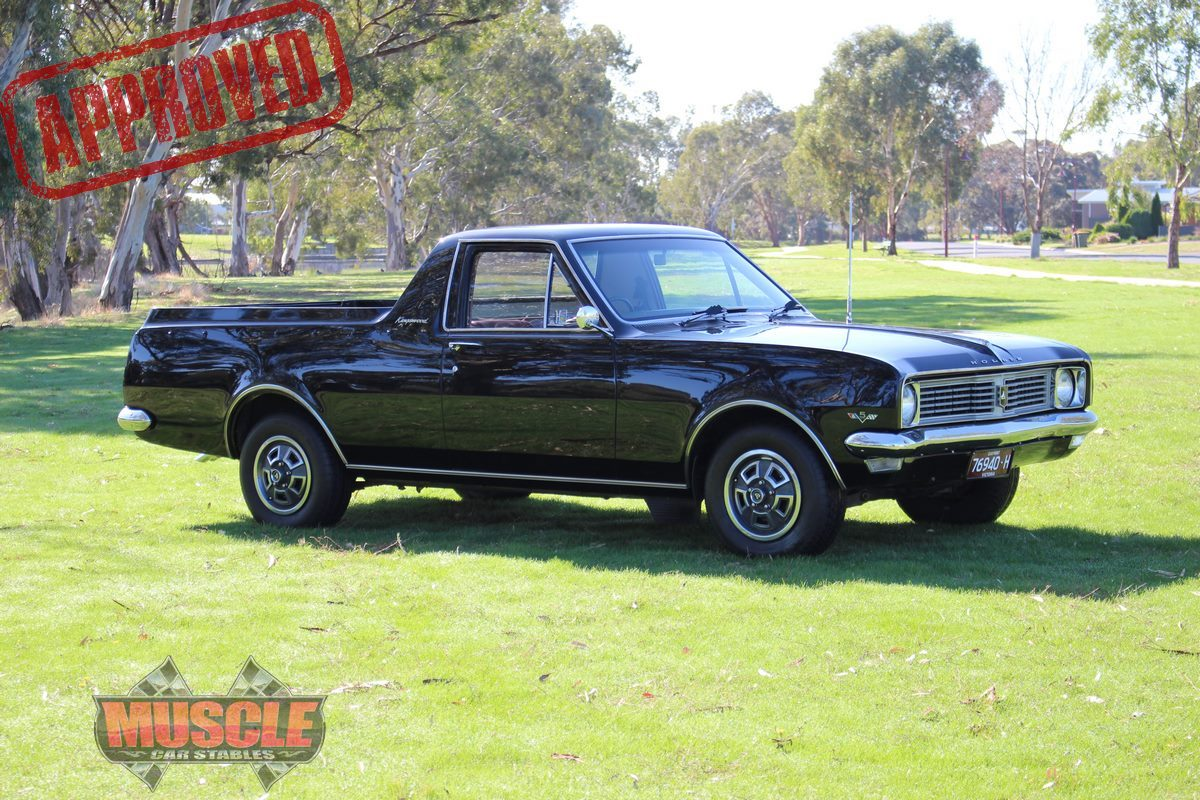 1969 holden kingswood ute 307 chev muscle car stables. Black Bedroom Furniture Sets. Home Design Ideas