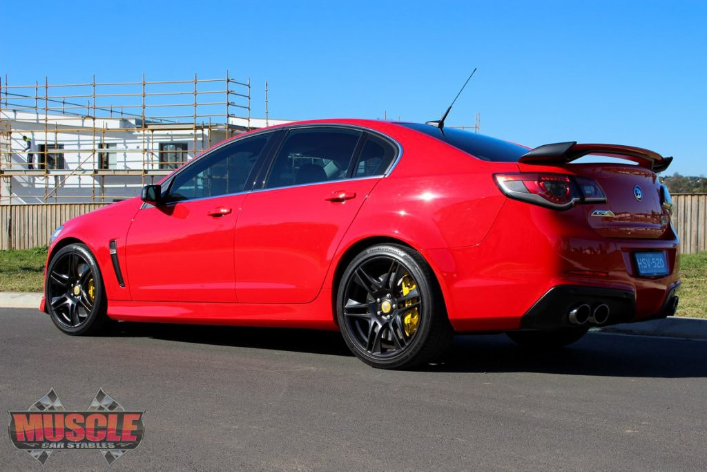 2014 Hsv Vf Gts W507 Pack Muscle Car Stables