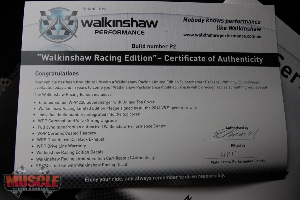 "2014 Holden VF Walkinshaw Racing Edition – Prototype 2 ""P2"" | Muscle"